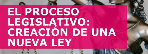 EL PROCESO LEGISLATIVO: CREACIÓN DE UNA NUEVA LEY