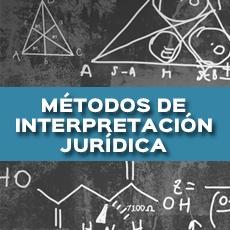 metodos de interpretacion juridica