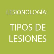 LESIONOLOGIA - TIPOS DE LESIONES