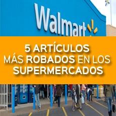 5 articulos mas robados en los supermercados