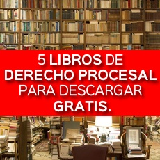 5 libros de derecho procesal para descargar gratis