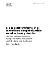 EL PAPEL DLEL FEMINISMO EN EL MOVIMIENTO ANTIGLOBALIZACION CONTRIBUCIONES Y DESAFIOS