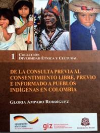 de la consulta previa al consentimiento libre, previo e informado a pueblos indigenas en colombia