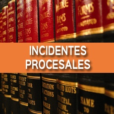 incidentes procesales