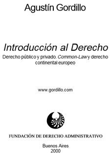 introduccion al derecho agustin gordillo