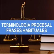 terminologia procesal