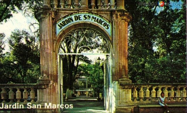 1. Jardin de San Marcos