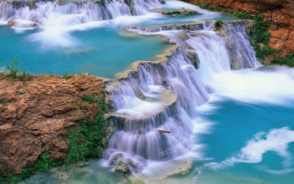 5. Cascadas de Agua Azul, Chiapas