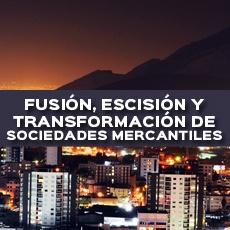 FUSION, ESCISION Y TRANSFORMACION DE SOCIEDADES MERCANTILES