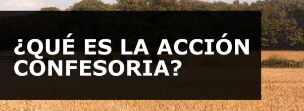 ACCIÓN CONFESORIA