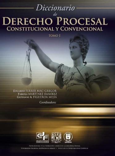 DICCIONARIO DE DERECHO PROCESAL CONSTITUCIONAL Y CONVENCIONAL - tomo 1