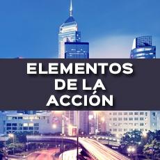ELEMENTOS DE LA ACCIÓN