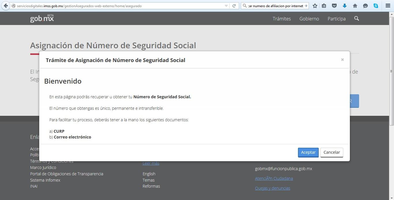 NUMERO DE SEGURIDAD SOCIAL 2