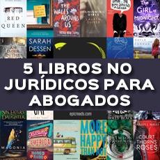 5 LIBROS NO JURIDICOS PARA ABOGADOS