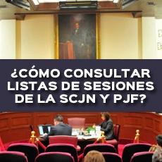 COMO CONSULTAR LISTAS DE SESIONES