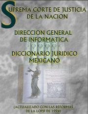 diccionario juridico mexicano