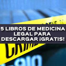 libros de medicina legal