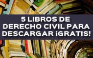 LIBROS DE DERECHO CIVIL PARA DESCARGAR GRATIS