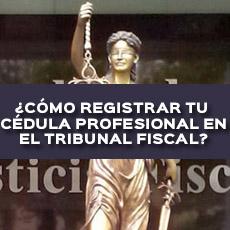 COMO REGISTRAR TU CEDULA EN EL TRIBUUNAL FISCAL