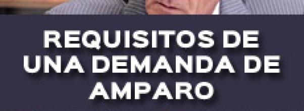 ¿CUALES SON LOS REQUISITOS DE UNA DEMANDA DE AMPARO?