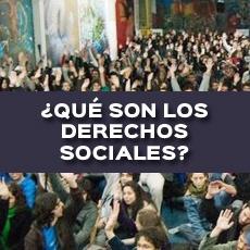 QUE SON LOS DERECHOS SOCIALES