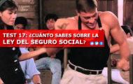 TEST 17: ¿CUÁNTO SABES SOBRE LA LEY DEL SEGURO SOCIAL?